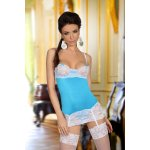 Erotiska veļa Shirley chemise light blue 2543
